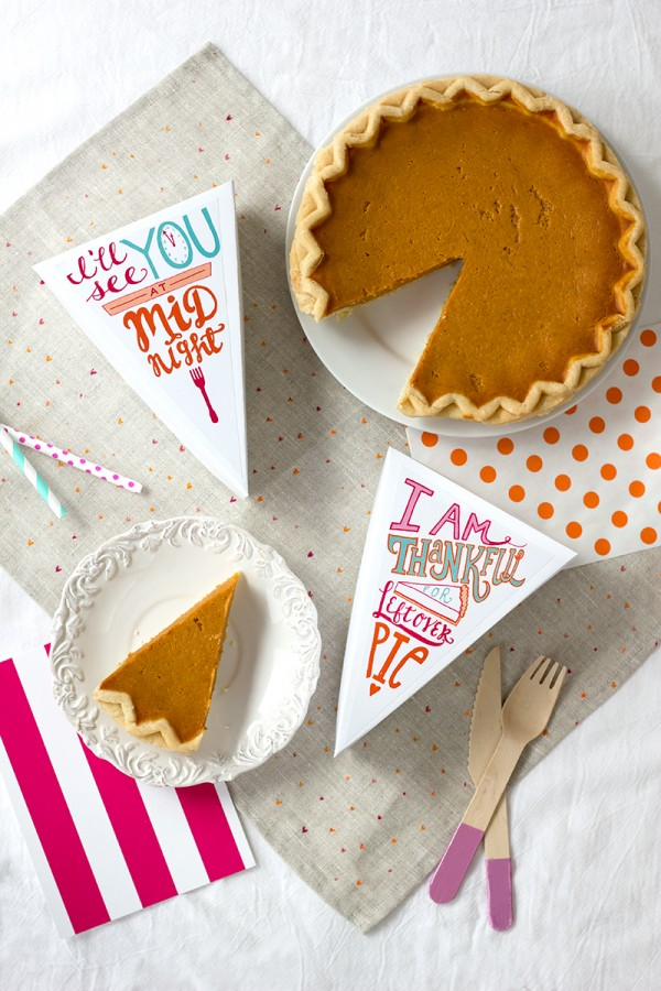 Pie Left Overs Printable
